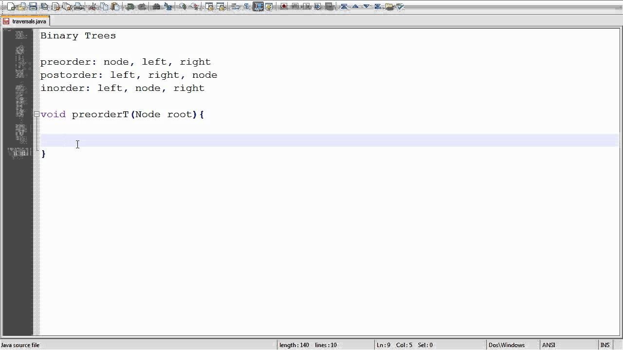 Binary search tree delete algorithm