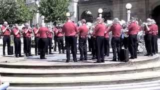 Melbourne Staff Band Pre Boundless 2015 Tour : Open Air Southport