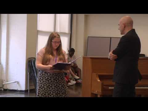 NSLC THTR Voice Master Class with David Strickland