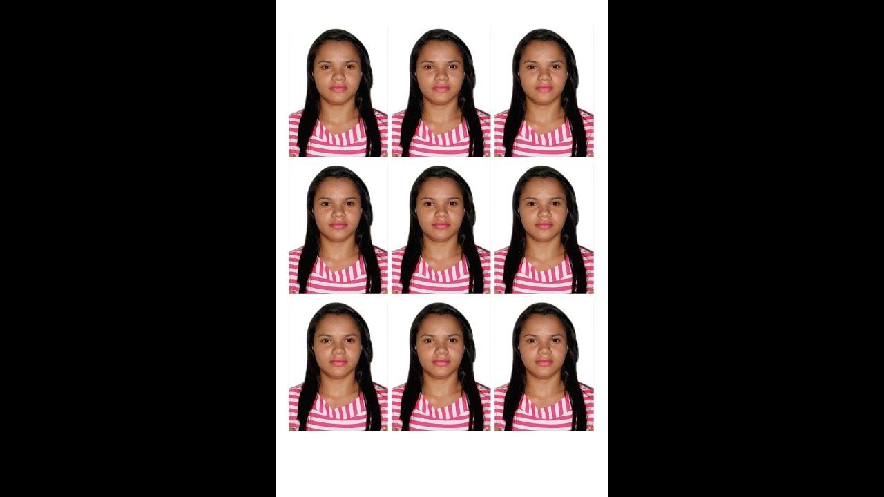 Como fazer uma foto 3x4 online