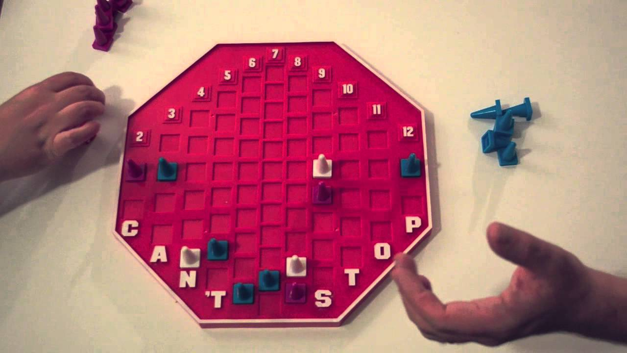 Stop Board Game Board Game Demo Can't Stop