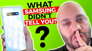 Samsung Galaxy S10 Review: What Samsung DIDN'T Tell You!