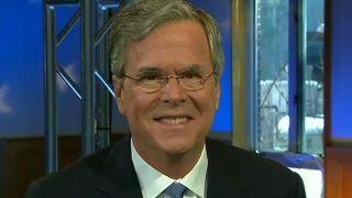 Jeb Bush on fight for GOP establishment lane