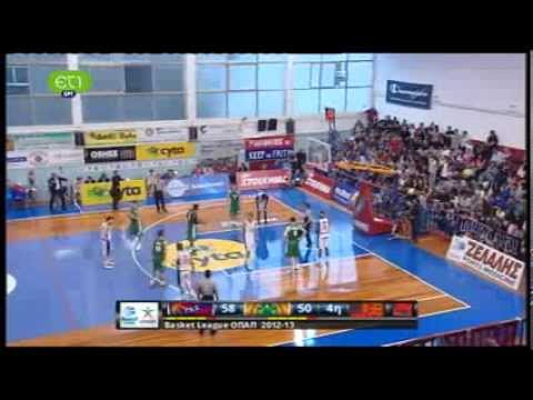 Panionios vs. Panathinaikos 64-69
