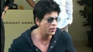 Shahrukh Khan Press Conference on Wankhede Controversy