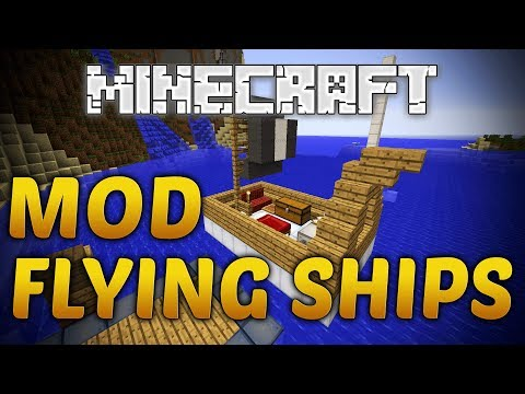 Minecraft Flying Ships Mod Review 1.7.9
