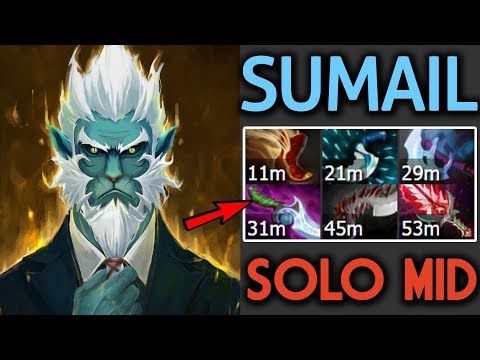 SUMAIL Dota 2 [Phantom Lancer] SoloMid - High Skill