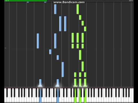 K'naan - Wavin' Flag (100% Speed) Synthesia video