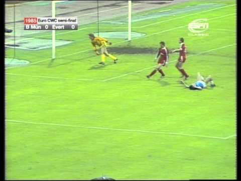 10/04/1985 Bayern Munich v Everton