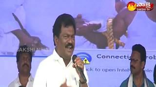 YSRCP leader Janga Krishnamurthy Speech | YSRCP's 'BC Garjana' Sabha | Eluru