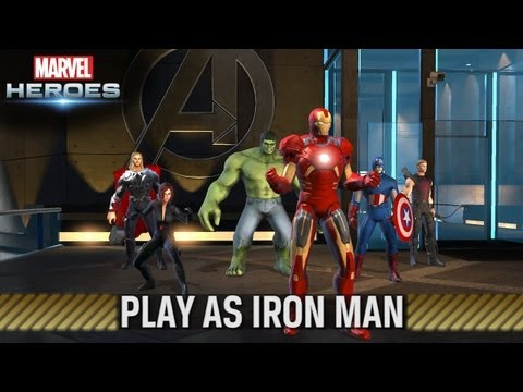 Marvel Heroes - Play as Iron Man - Trailer