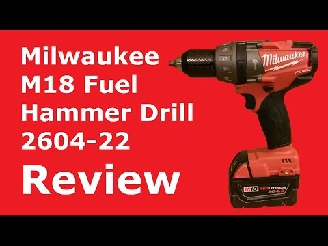 Milwaukee Brushless M18 Fuel Hammer Drill Review