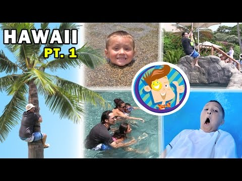 Splash Time in Hawaii! Riding a Water Elevator @ GRAND WAILE