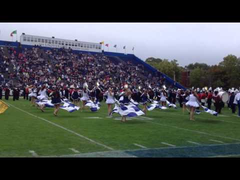 Westerly High School Color Guard- URI Band Day 2014