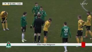 ÍA - Breiðablik, mörkin og viðtal við Jóa Kalla