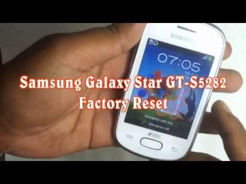 Samsung Galaxy Star GT-S5282 Hard Reset