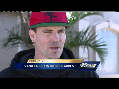 Vanilla Ice offers advice to Justin Bieber