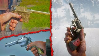 9 SECRET Weapons in Red Dead Redemption 2 (RDR2 BEST Weapons)
