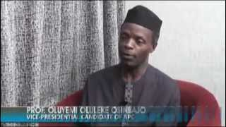 Special Interview With Osinbajo