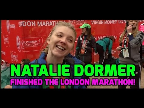 Natalie Dormer will celebrate London Marathon by watching GOT