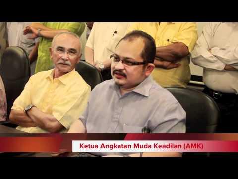Sidang Media Pkr : Isu Gambar Aksi Seks Lelaki Mirip Azmin Ali 4 5 2012 video