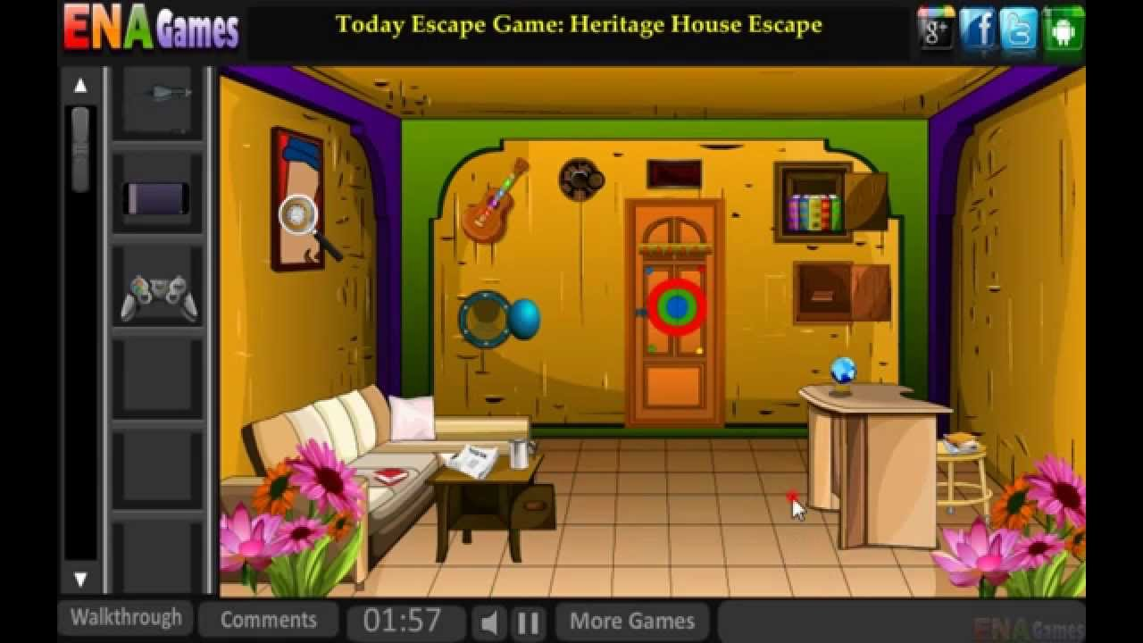 Funny house escape walkthrough youtube for Minimalistic house escape 5 walkthrough