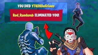 I KILLED H20 DELIRIOUS! (FORTNITE BATTLE ROYALE)
