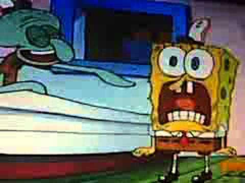 Spongebob Screaming... Squidward laughing - YouTube