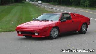 Lamborghini Jalpa driven Hard: Best Jalpa video!