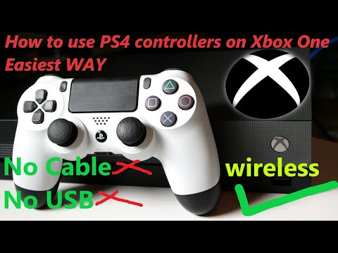 How to use PS4 controller On Xbox one 2021