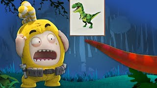 Oddbods | Dinosaur Park | Funny Cartoons For Children | Oddbods & Friends