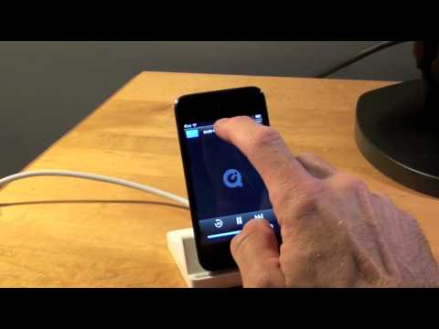 Apple iPod Touch 4G: Dock to VGA Adapter Demo