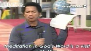 SCOAN 14/09/14: Do Not Mind The Devil By Wiseman Daniel. Emmanuel TV