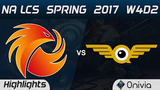 P1 vs FLY Highlights Game 1 NA LCS Spring 2017 W4D2 Phoenix1 vs FlyQuest