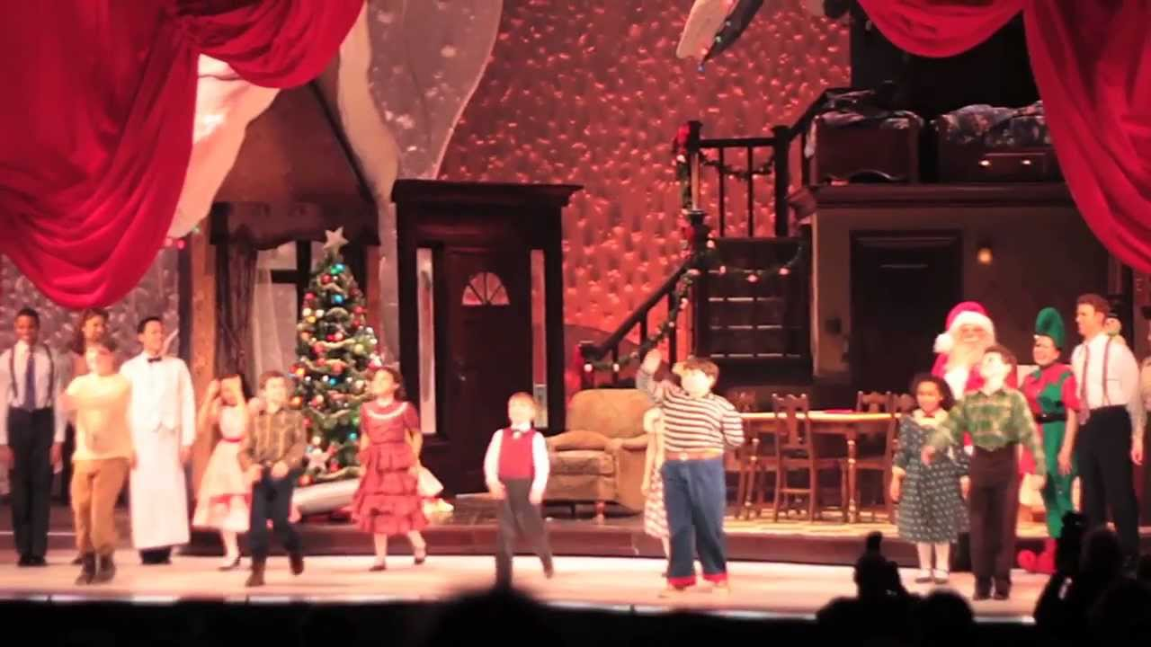 A Christmas Story, The Musical - OPENING NIGHT - YouTube