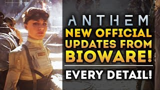 Anthem Game - New Official Details from Bioware! Pilot Skills! End Game Rewards! Advanced Weather!