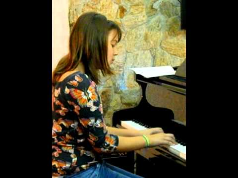 Recital De Piano - Bruna Lu Ferraz video
