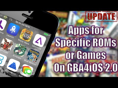 GBA4iOS 2.0: Custom Apps for ROMs (NO COMPUTER) (NO JAILBREAK)