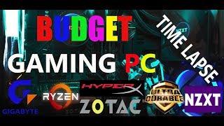 BUDGET GAMING PC BUILD : Ryzen 3 2200G | Gigabyte b450M-DS3H