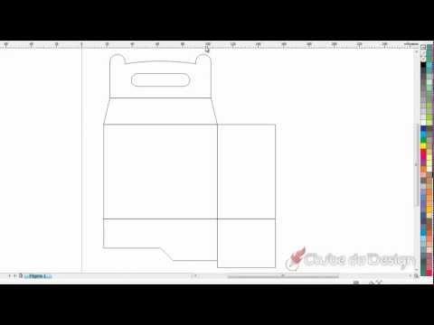 Criando uma caixinha de presentes CorelDRAW X5
