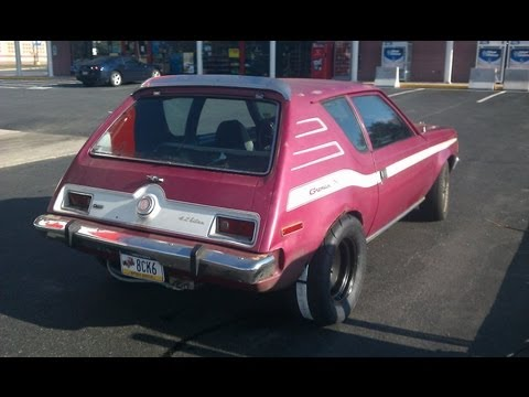 Turbocharged LS V8 AMC Gremlin visits LV Cars and Coffee
