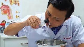 Bác sĩ hướng dẫn cách rửa mũi dễ làm, hiệu quả