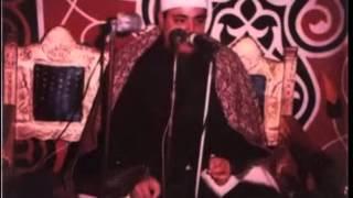 فضيلة الشيخ شعبان الصياد. حفله خارجيه وتلاوه من سورالانسان والطارق والبلد
