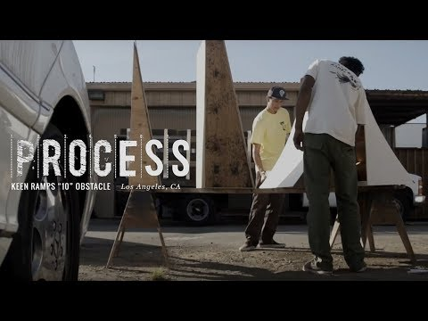 "Process: Keen Ramps - ""10"" Obstacle"
