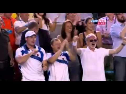 Novak Djokovic vs Andy Murray   Novak wins Australian Open 2011 360p