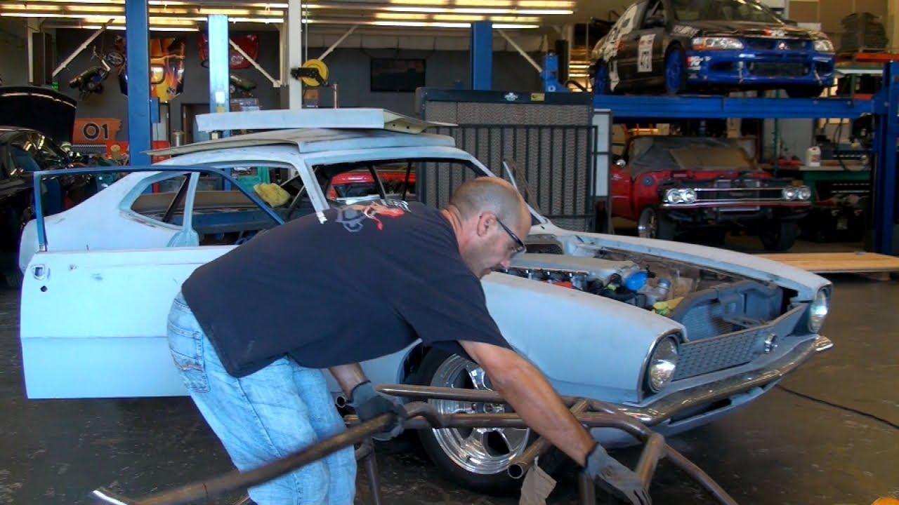 Ford Maverick Drag Car