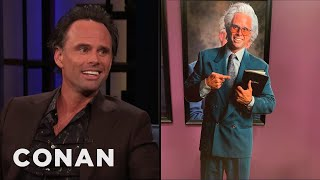 "Walton Goggins Had A ""Dick Double"" On ""Righteous Gemstones"" - CONAN on TBS"