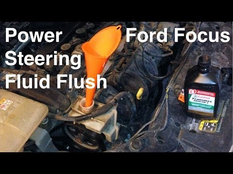 2000-2013 Ford Focus Power Steering Fluid Flush