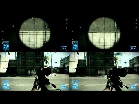 Battlefield 3 Sniper Rifle Comparison L96, M98B, M40A5 and SV98 Part 2.