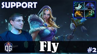 Fly - Crystal Maiden Safelane | SUPPORT | vs YapzOr (Night Stalker) | Dota 2 Pro MMR Gameplay #2